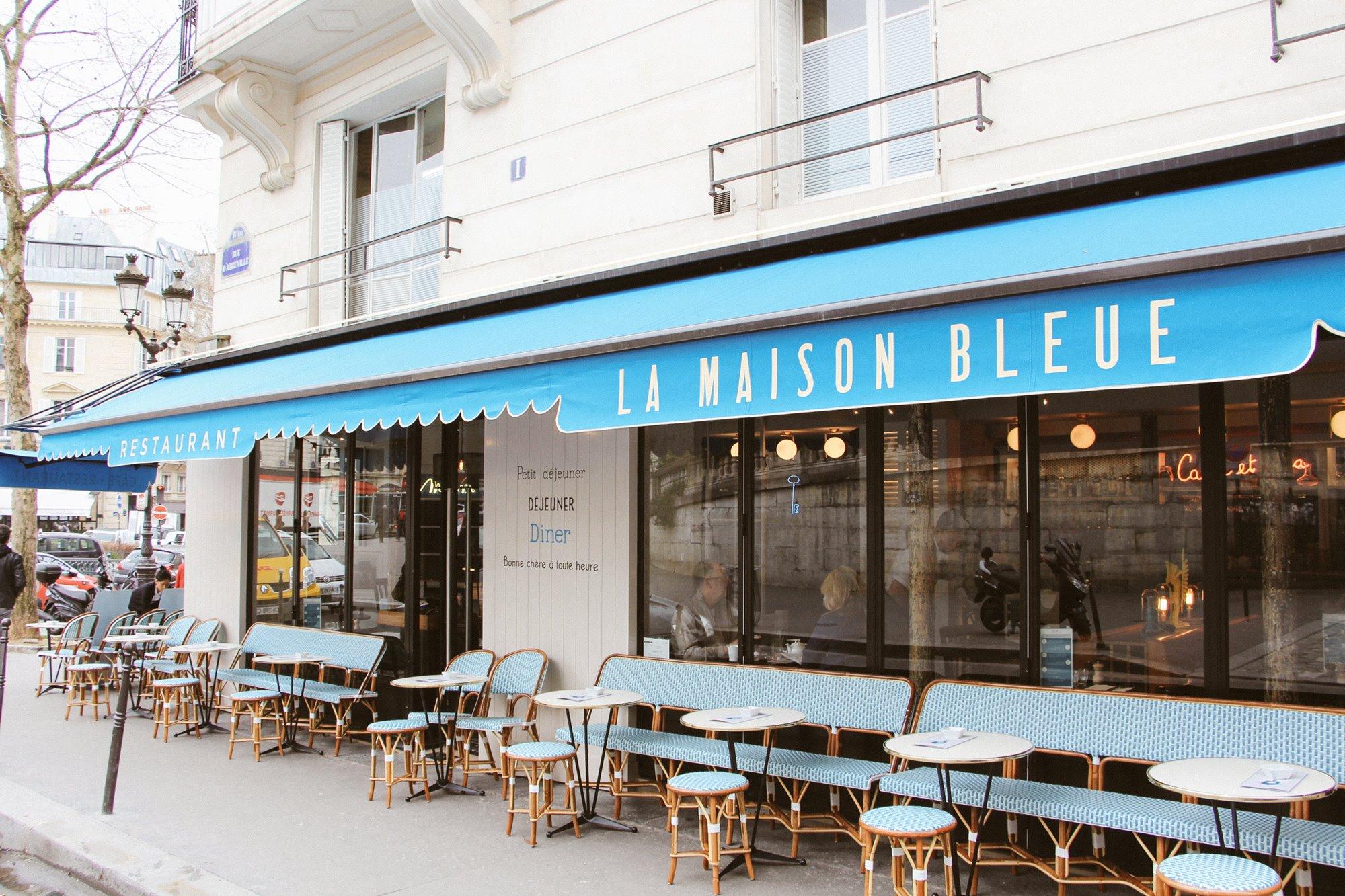 Le brunch de la maison bleue - La maison hantee paris ...