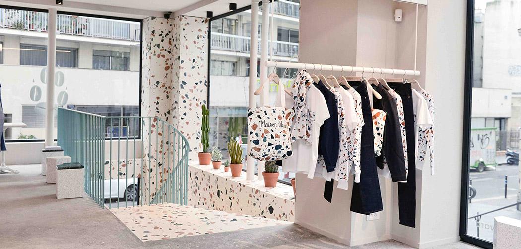 Maison kitsun nouvelle boutique et coffee shop - Magasin suedois paris ...