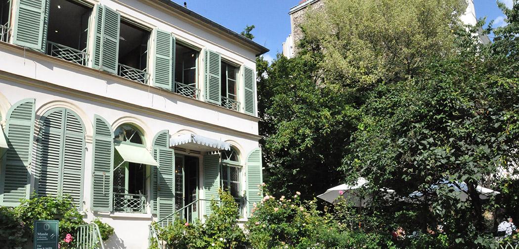Musee vie romantique jardin 2 la seinographe - Deco jardin nice rue barla versailles ...