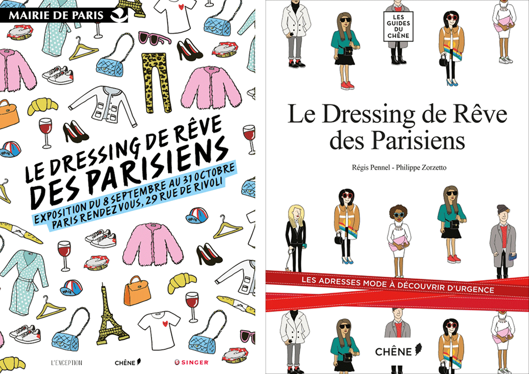 Le dressing de r ve des parisiens expo guide livre l 39 exception la seinographe - Le dressing de bea ...