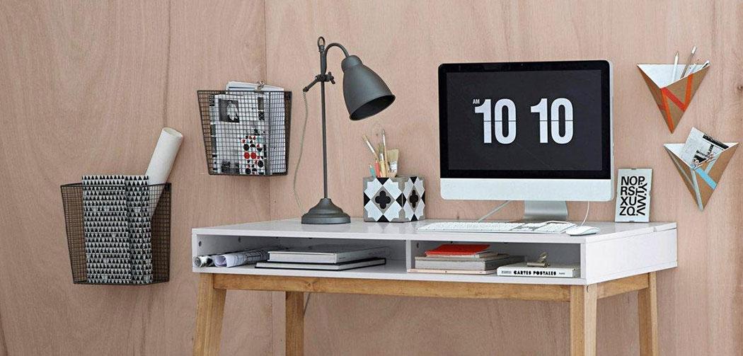 bureau deco design la redoute la seinographe. Black Bedroom Furniture Sets. Home Design Ideas