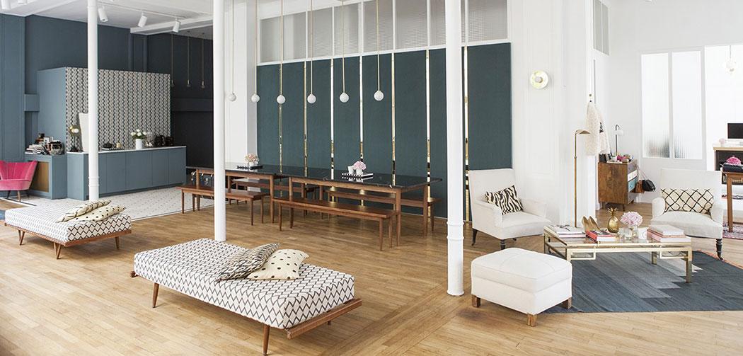 l 39 appartement sezane mode deco lifestyle rue saint fiacre paris la seinographe. Black Bedroom Furniture Sets. Home Design Ideas
