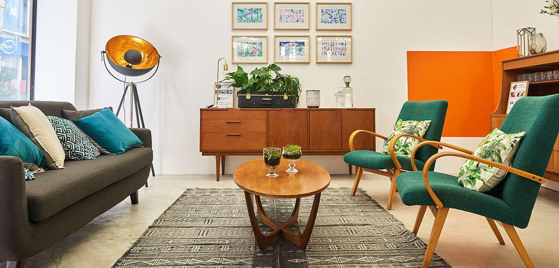 l appartement le bon coin deco vintage rue francaise paris la seinographe. Black Bedroom Furniture Sets. Home Design Ideas