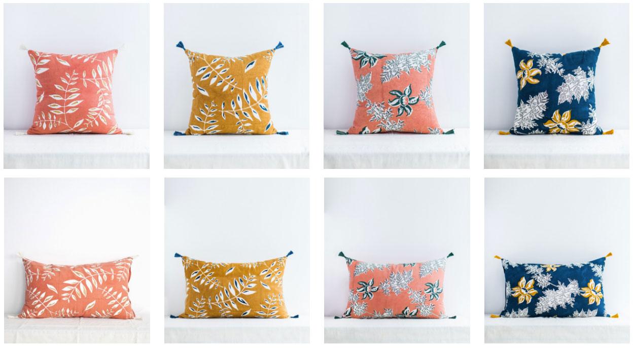 coussins deco les coussins motif sont aussi trs tendance en matire de forme vous pouvez vous. Black Bedroom Furniture Sets. Home Design Ideas