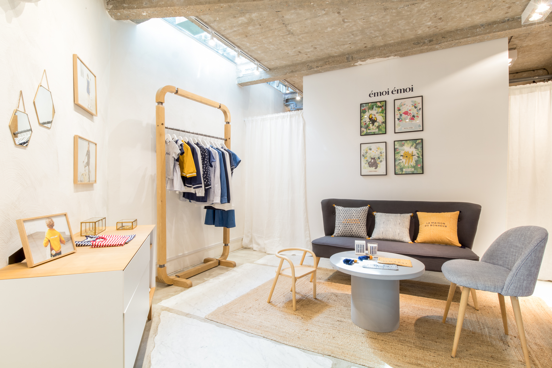 pop up store emoi emoi rue du petit thouars paris la. Black Bedroom Furniture Sets. Home Design Ideas
